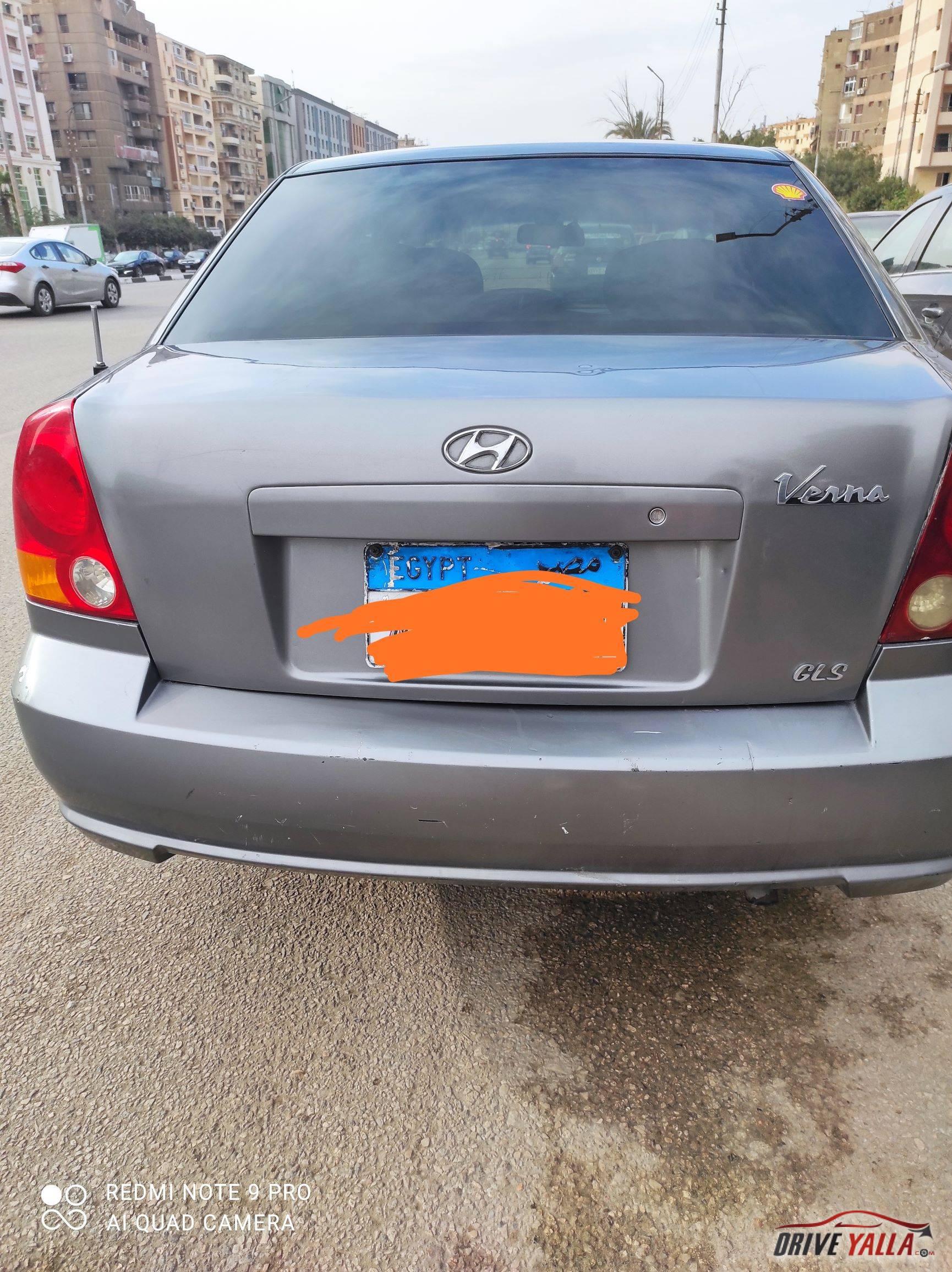 هيواندى  فيرنا  مستعملة للبيع فى مصر موديل 2015