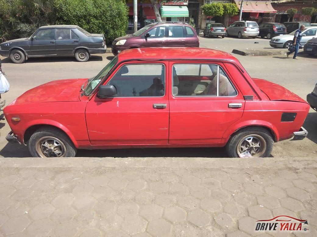 سيارة 128  مستعملة للبيع فى مصر موديل 77