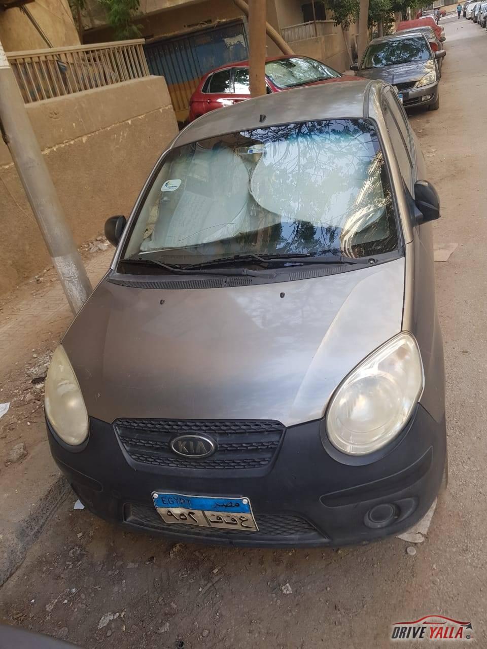 كيا بيكانتو مستعملة للبيع فى مصر  2008