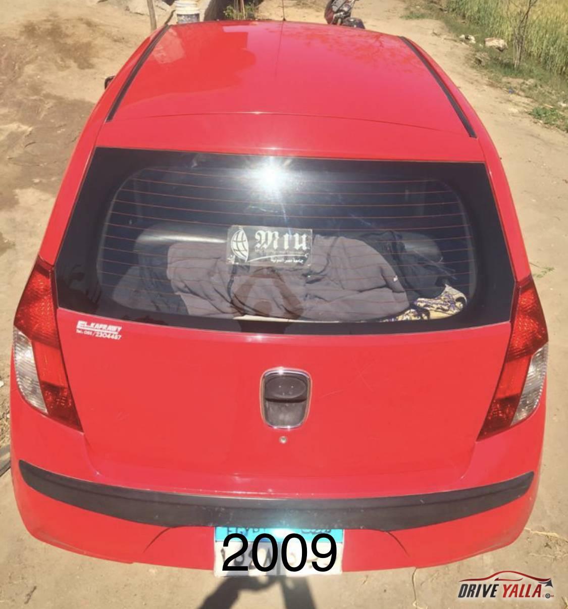 هيواندى i10 مستعملة للبيع فى مصر 2009
