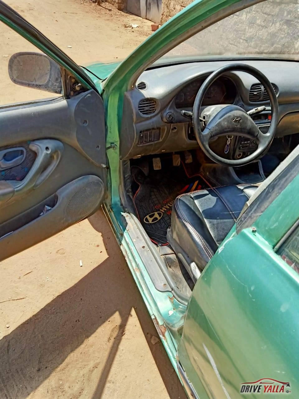هيونداي اكسنت مستعملة للبيع فى مصر  2000