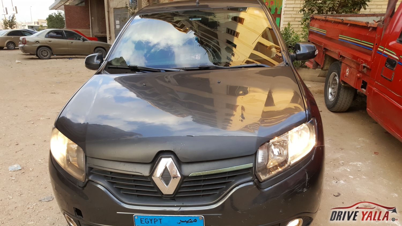 رينو لوجان مستعملة للبيع فى مصر بالتقسيط   2016