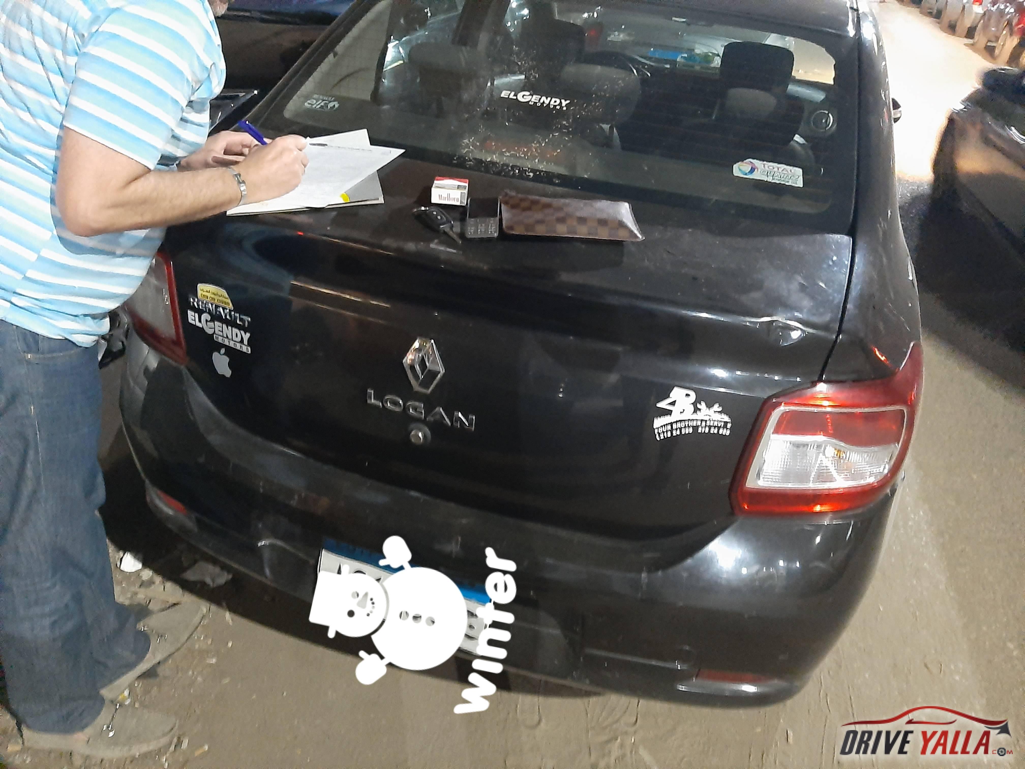 رينو لوجان مستعملة للبيع فى مصر بالتقسيط 2017
