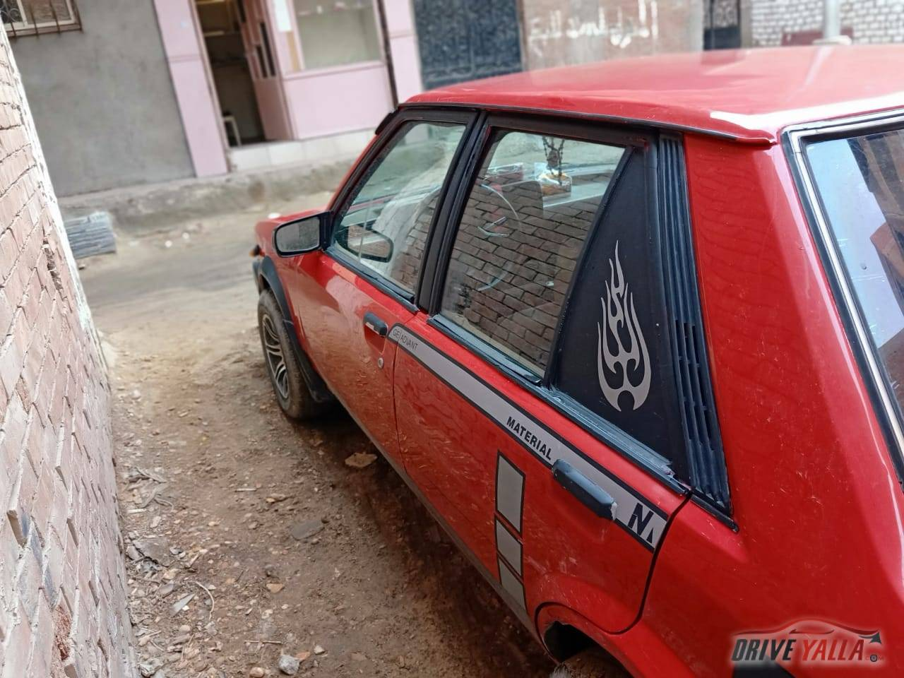 سياره ماذدا  يباني موديل 232 سنه الصنع 1982