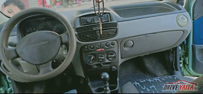 فيات بونتو مستعملة للبيع فى مصر  2001