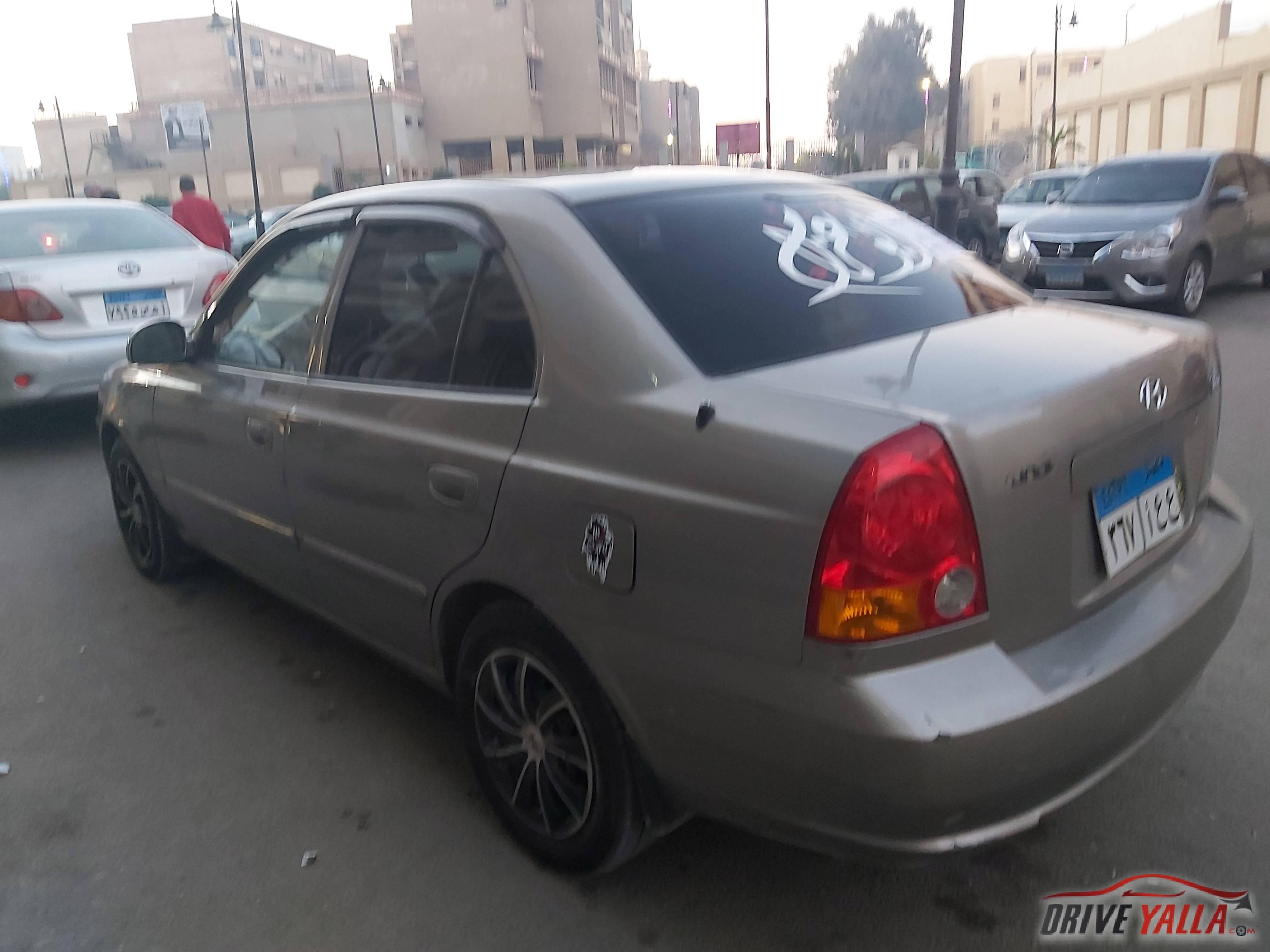 هيونداي فيرنا  مستعملة للبيع فى مصر ٢٠١٦
