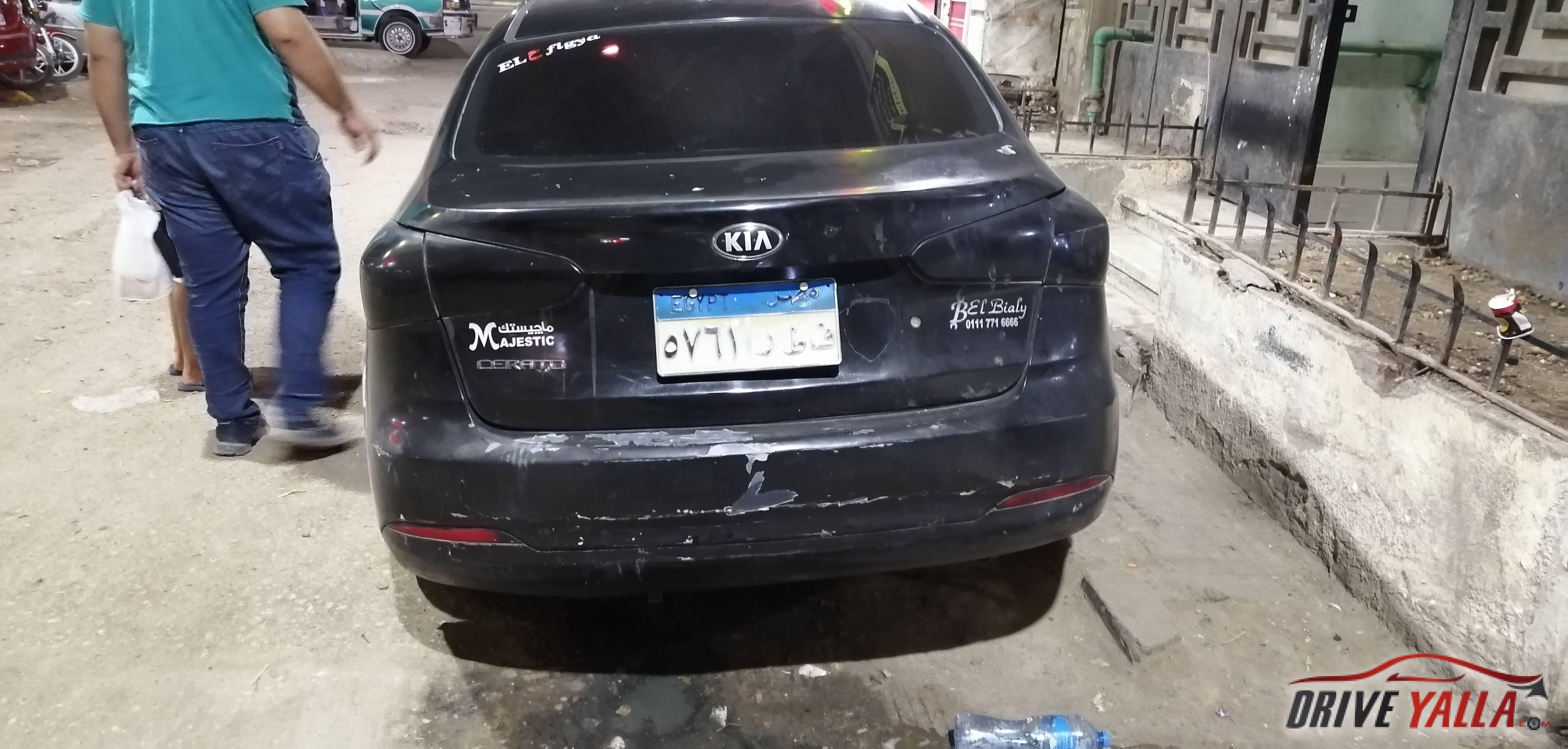 كيا سيراتو  مستعملة للبيع فى مصر بالتقسيط ٢٠١٤