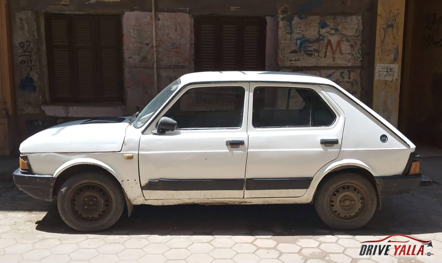 فيات 127 مستعملة للبيع فى مصر 1986