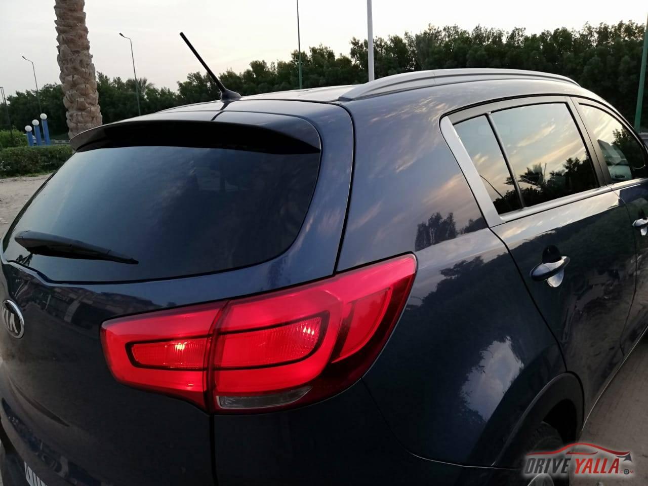 كيا سبورتاج مستعملة  للبيع فى مصر بالتقسيط 2016