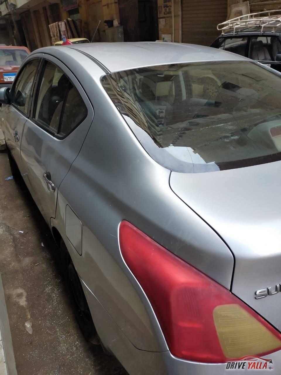 سيارة نيسان صنى مستعملة للبيع فى مصر  موديل 2013