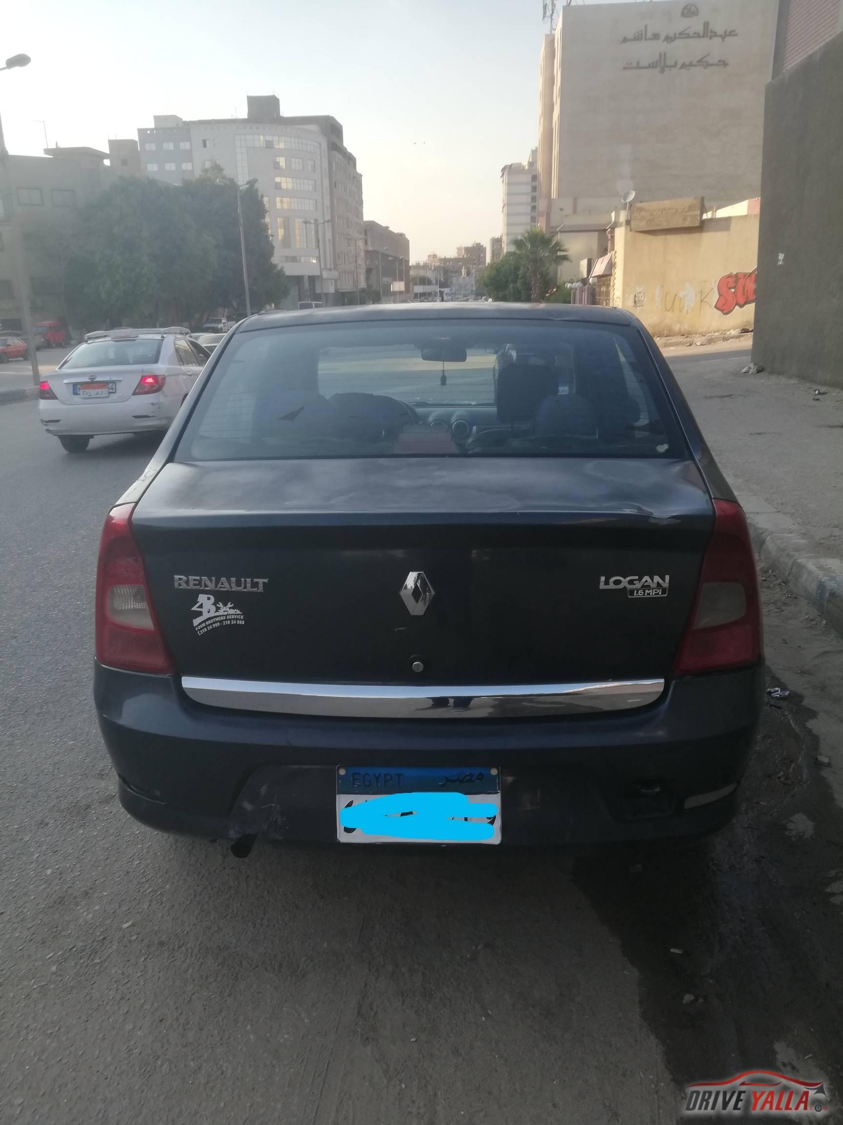 رينو لوجان مستعملة للبيع فى مصر  ٢٠١٠