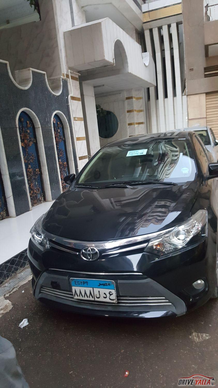 تويوتا ياريس  مستعملة للبيع فى مصر ٢٠١٤