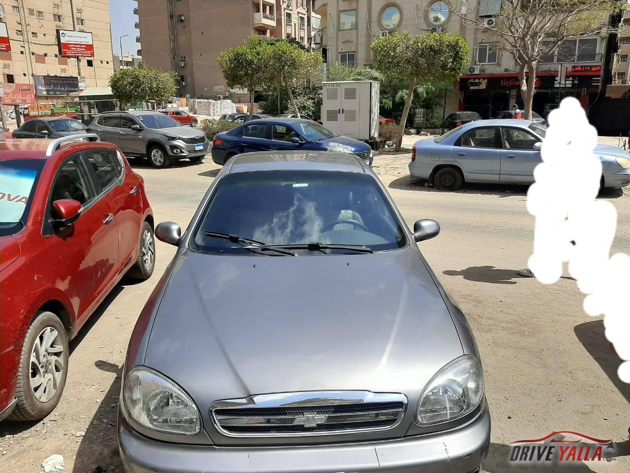شيفورلية لانوس  مستعملة للبيع فى مصر موديل 2015