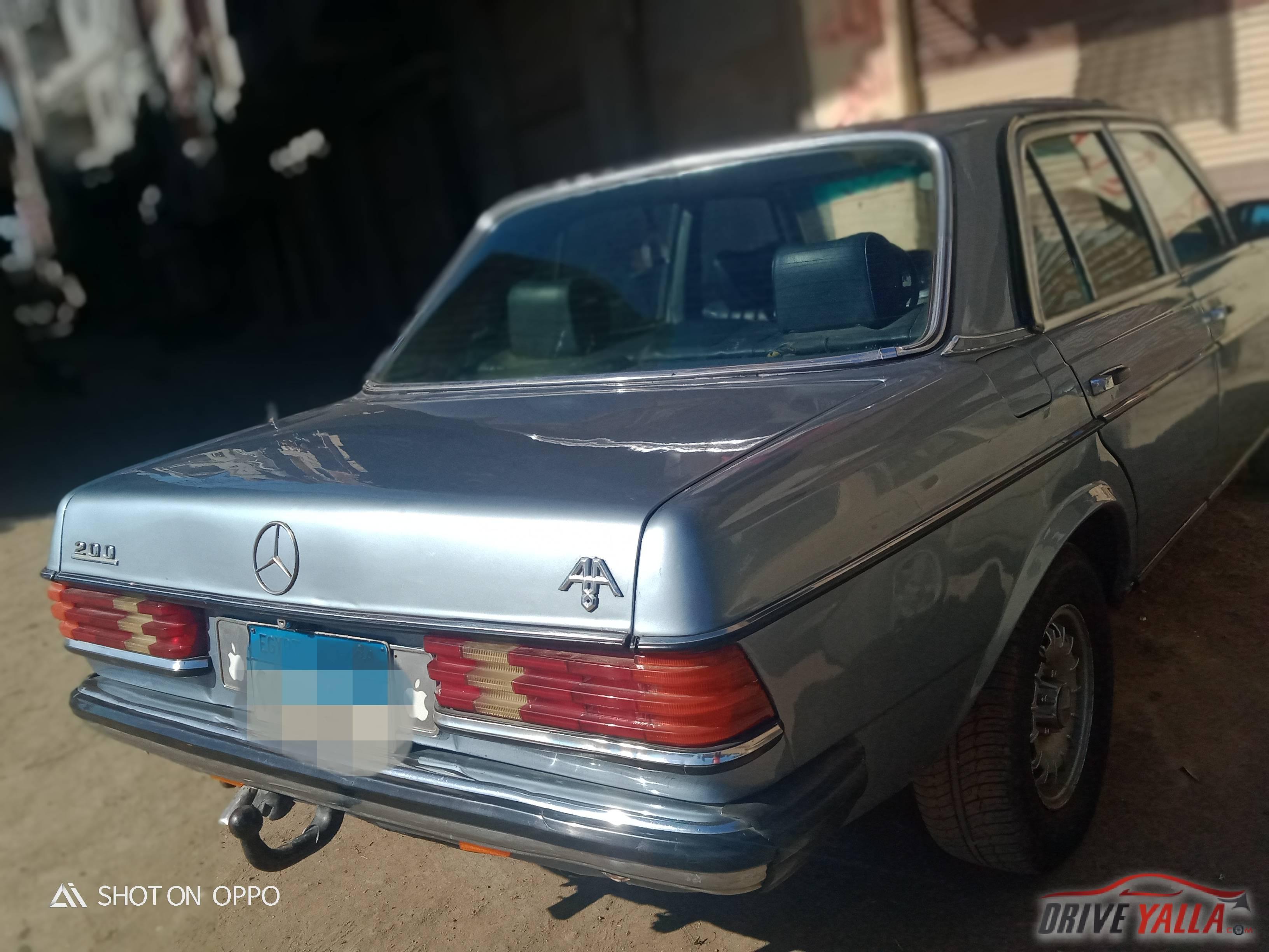 مرسيدس بنز 84 مستعملة للبيع فى مصر 1984