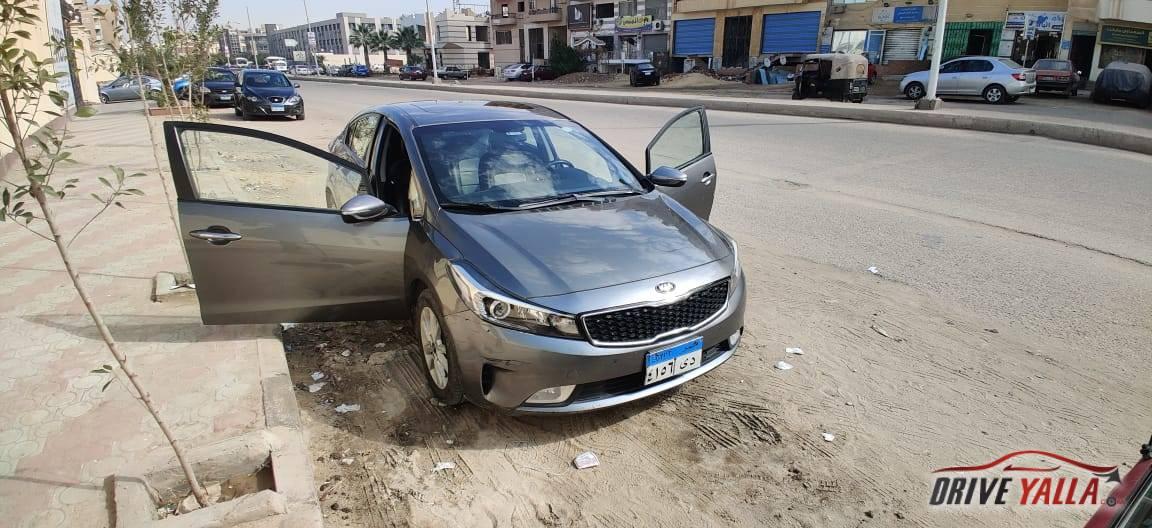كيا سيراتو مستعملة للبيع فى مصر  ٢٠١٧ توب لاين