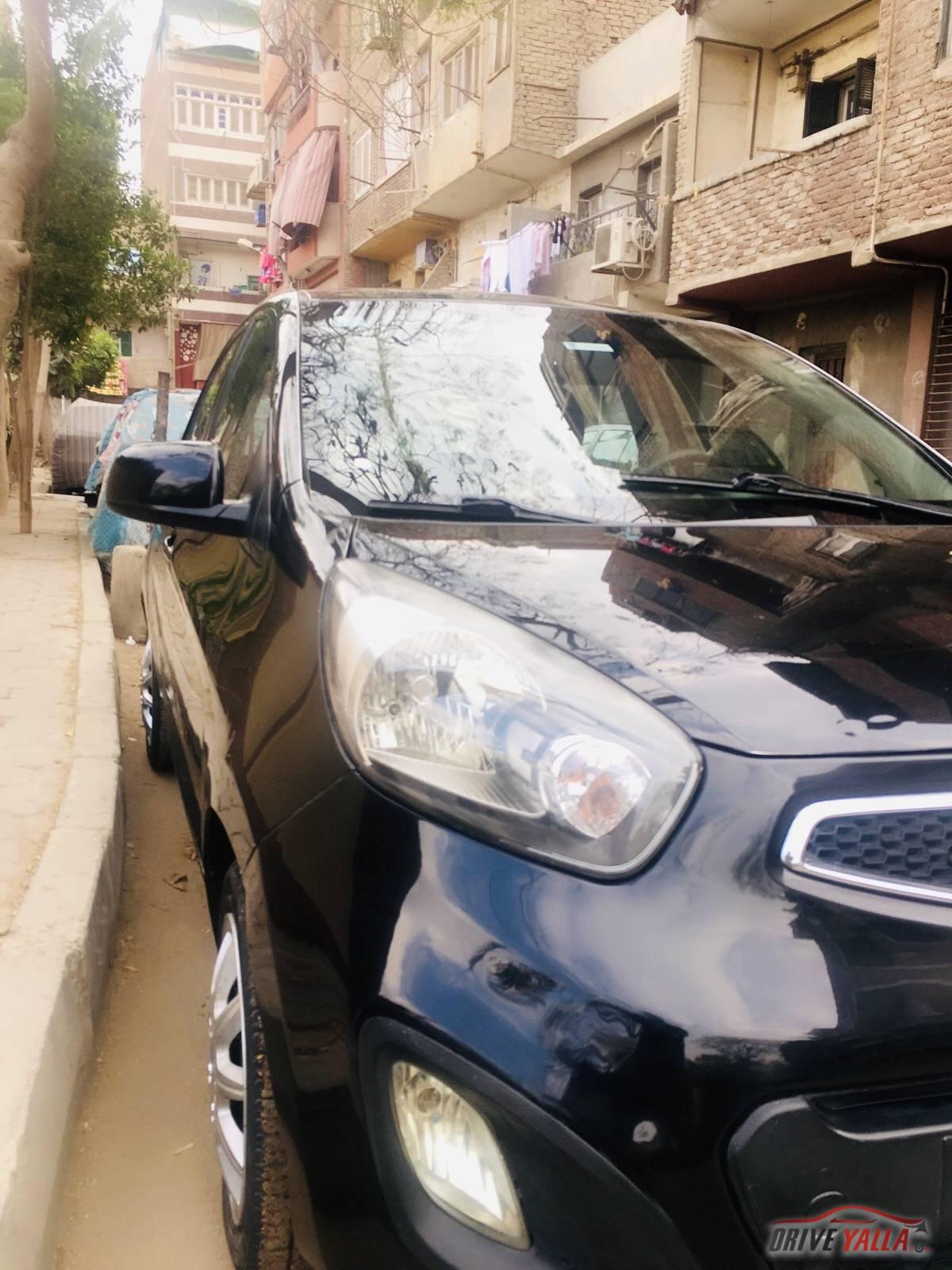 كيا بيكانتو مستعملة للبيع فى مصر  2014