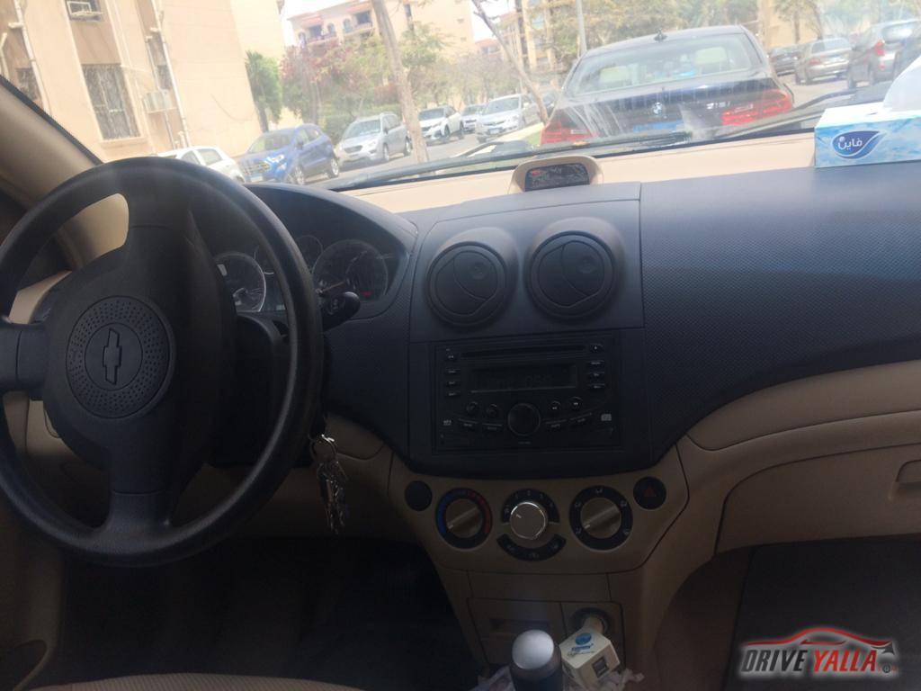 شيفرولية  أفيو مستعملة للبيع فى مصر 2016