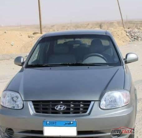 هيونداى فيرنا مستعملة للبيع فى مصر بالتقسيط  2016