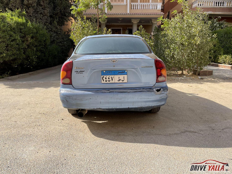 دايو لانوس مستعملة للبيع فى مصر 2005