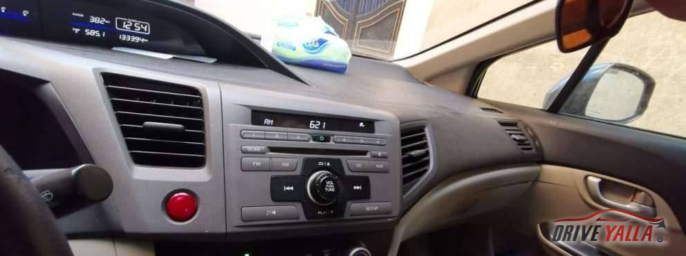 هوندا سيفك  مستعملة للبيع فى مصر ٢٠١٢