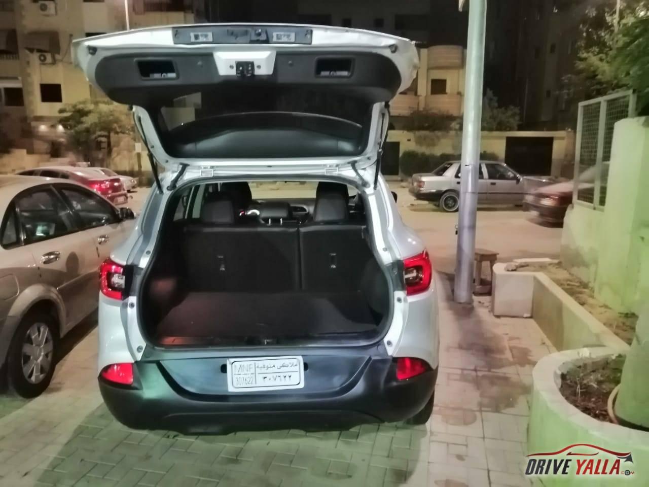 رينو كادجار مستعملة للبيع فى مصر بالتقسيط  2017