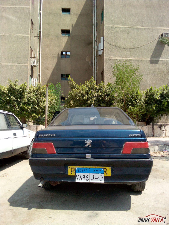 بيجو 405 مستعملة للبيع فى مصر 1992