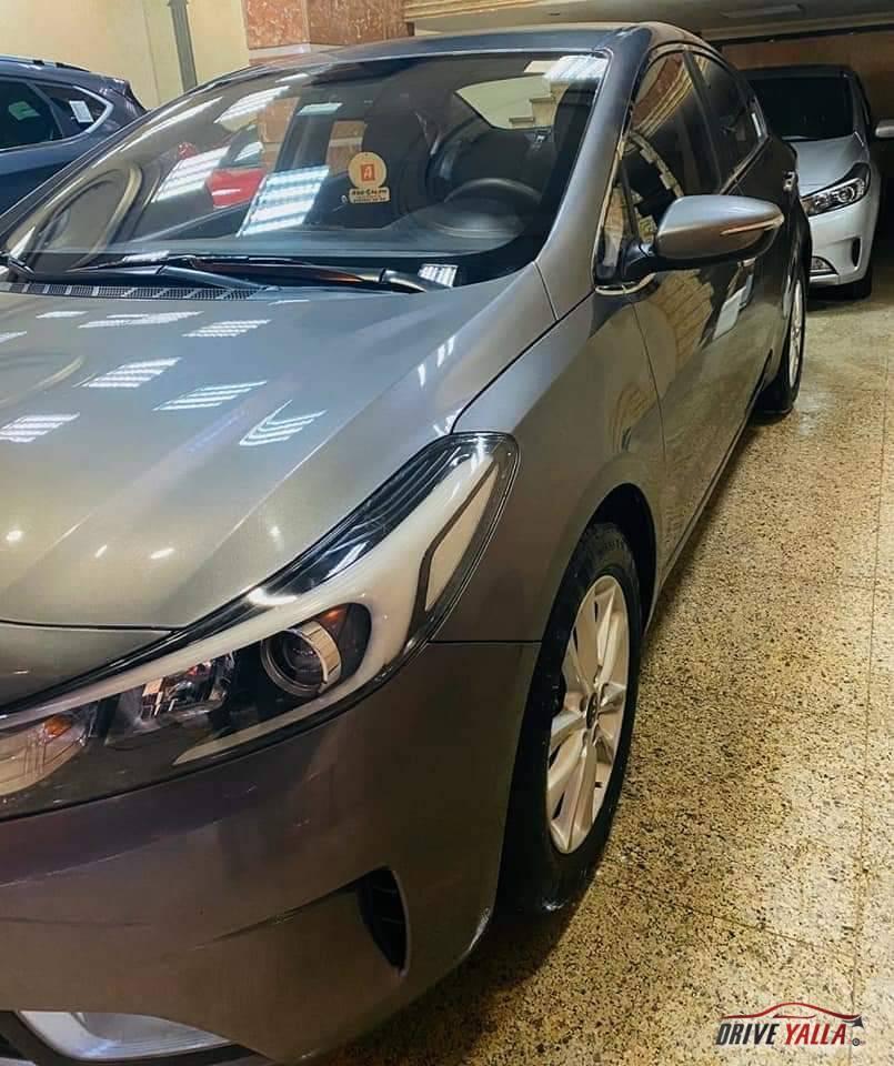 كيا سيراتو مستعملة للبيع فى مصر بالتقسيط  2018