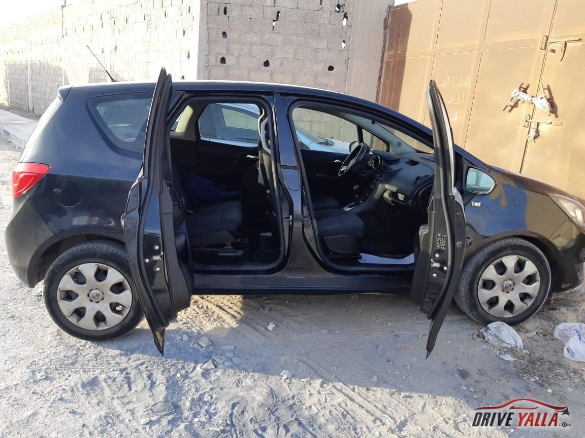 اوبل ميريفا فولكس واجن مستعملة للبيع فى مصر بالتقسيط   2015