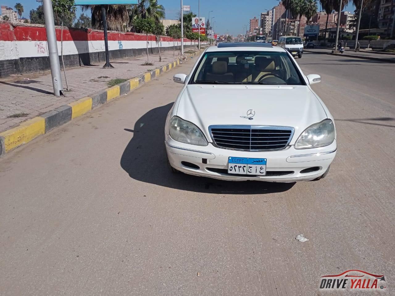 مرسيدس S350 مستعملة للبيع فى مصر  موديل 2003