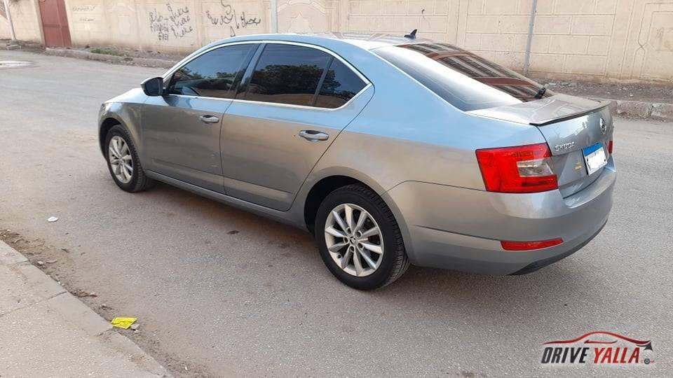 سكودا اوكتافيا A7 مستعملة للبيع فى مصر 2014