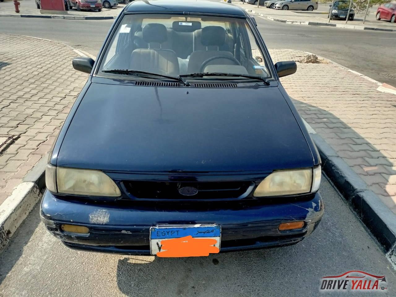 كيا برايد مستعملة للبيع فى مصر 2000