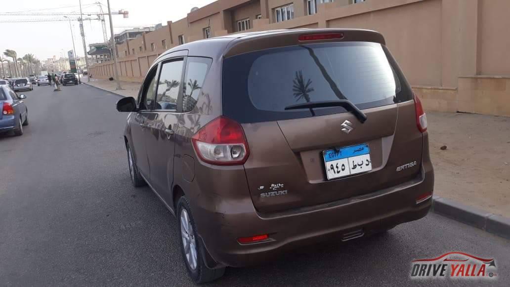 سوزوكي ارتيجا مستعملة للبيع فى مصر 2015