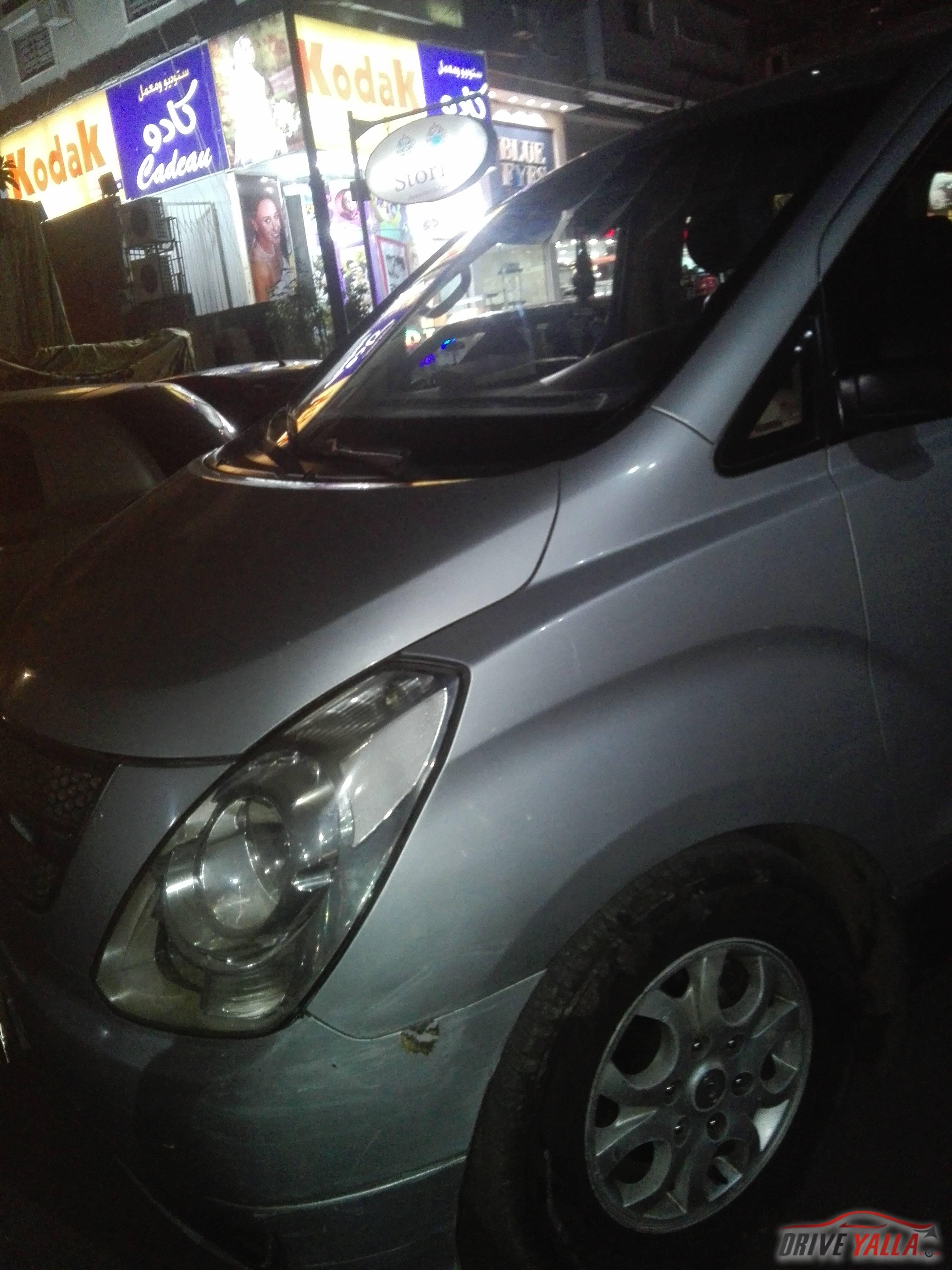 سياره للبيع هيونداي اتش وان مستعملة للبيع فى مصر  2010