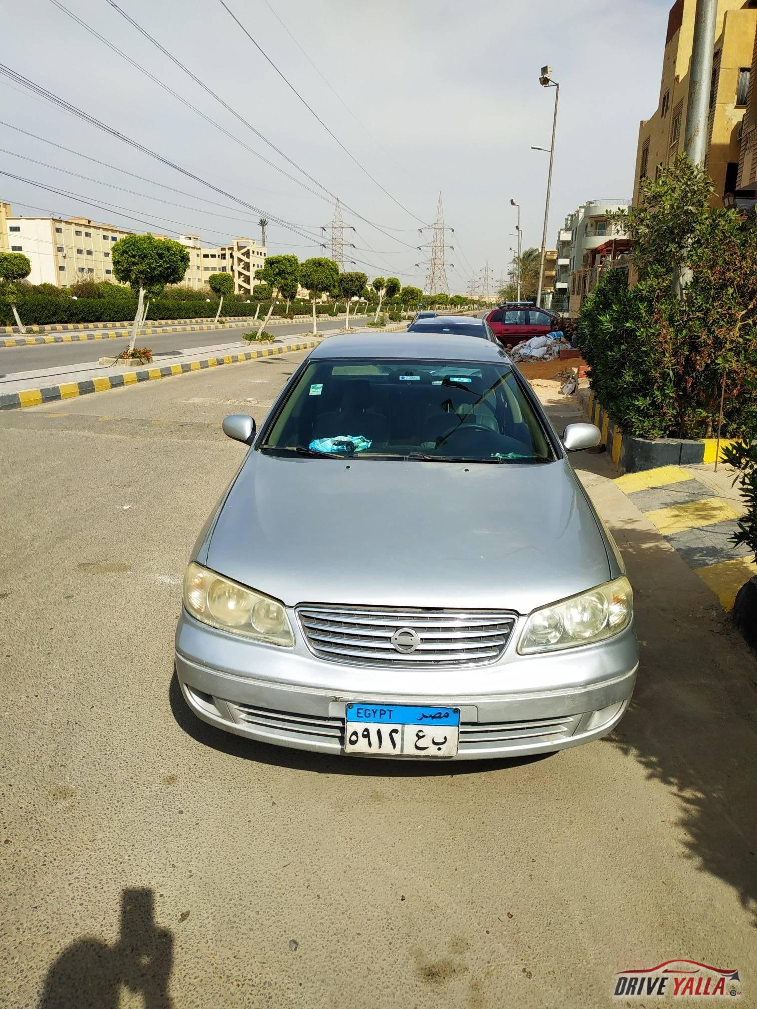 نيسان صنى مستعملة للبيع فى مصر  2008