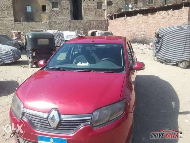 رينو لوجان مستعملة للبيع فى مصر موديل 2016