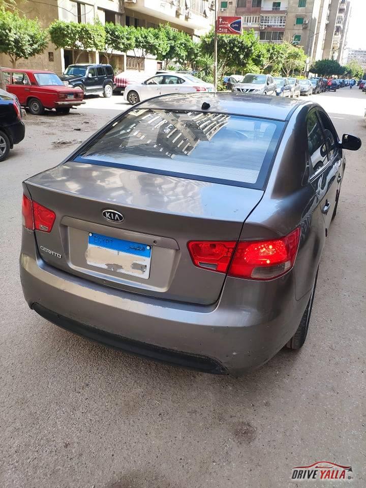 كيا سيراتو مستعملة للبيع فى مصر  2010