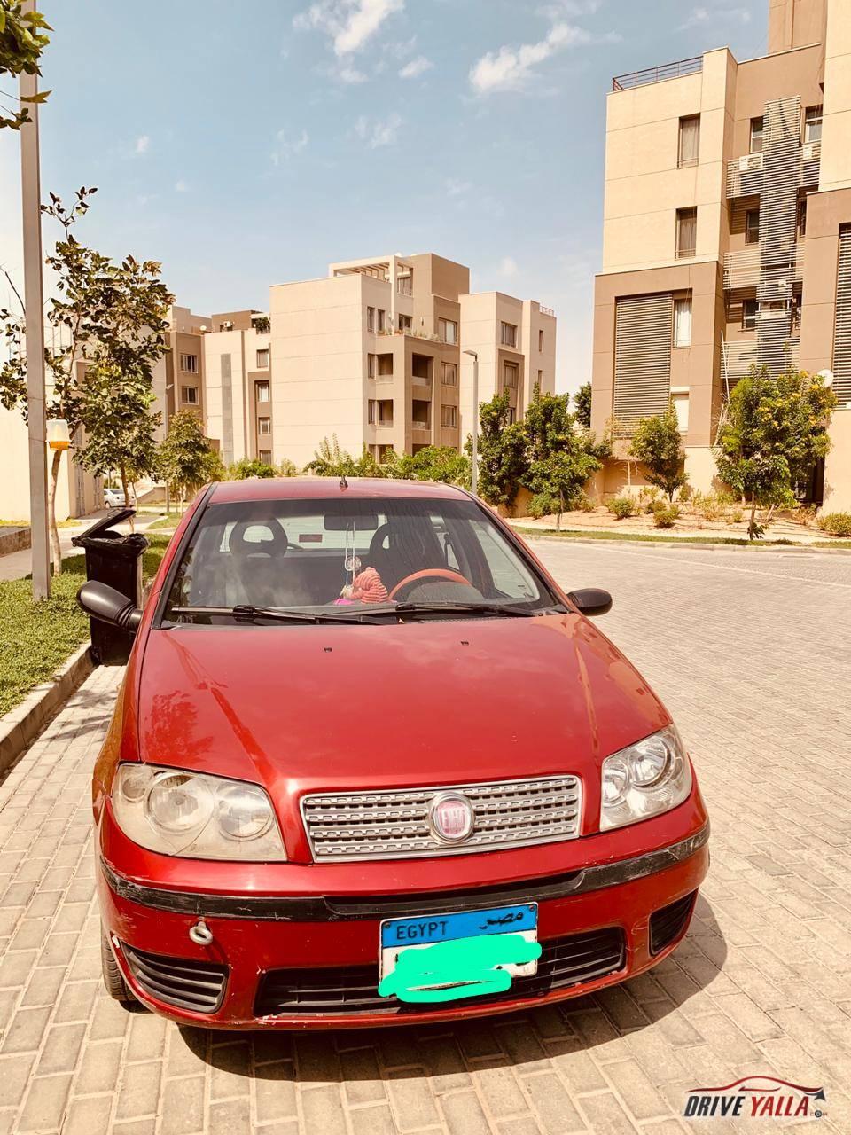 فيات بونتو مستعملة للبيع فى مصر بالتقسيط ٢٠١٢