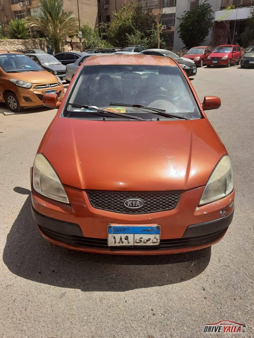 كيا ريو مستعملة للبيع فى مصر 2006