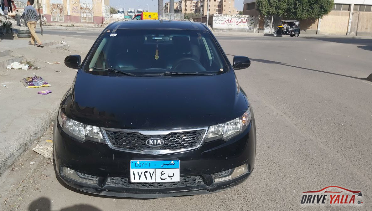 كيا  سيراتو مستعملة للبيع فى مصر 2013