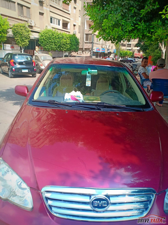 عربية byd مستعملة للبيع فى مصر بالتقسيط  2017