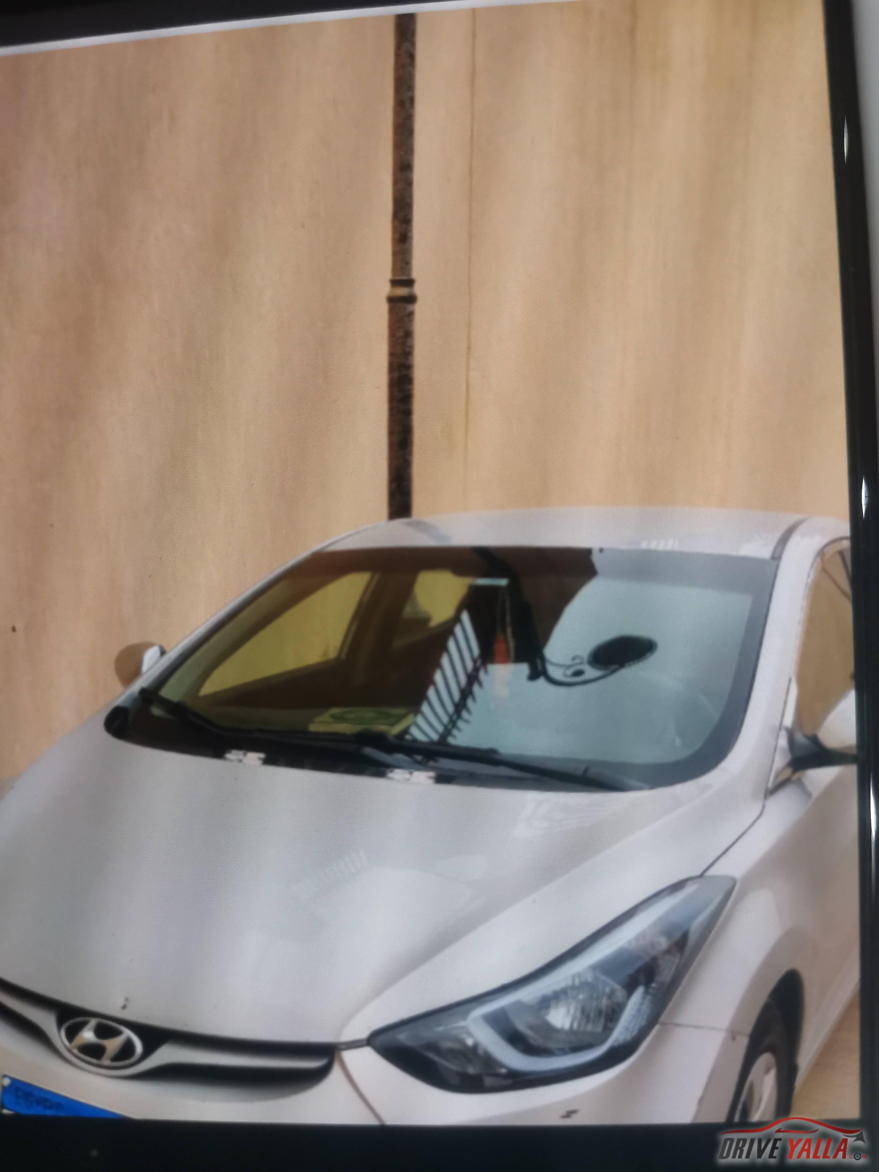 هيونداي النترا مستعملة للبيع فى مصر  ٢٠١٥