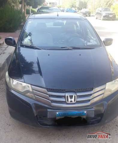 هوندا سيتى مستعملة للبيع فى مصر  ٢٠١٠