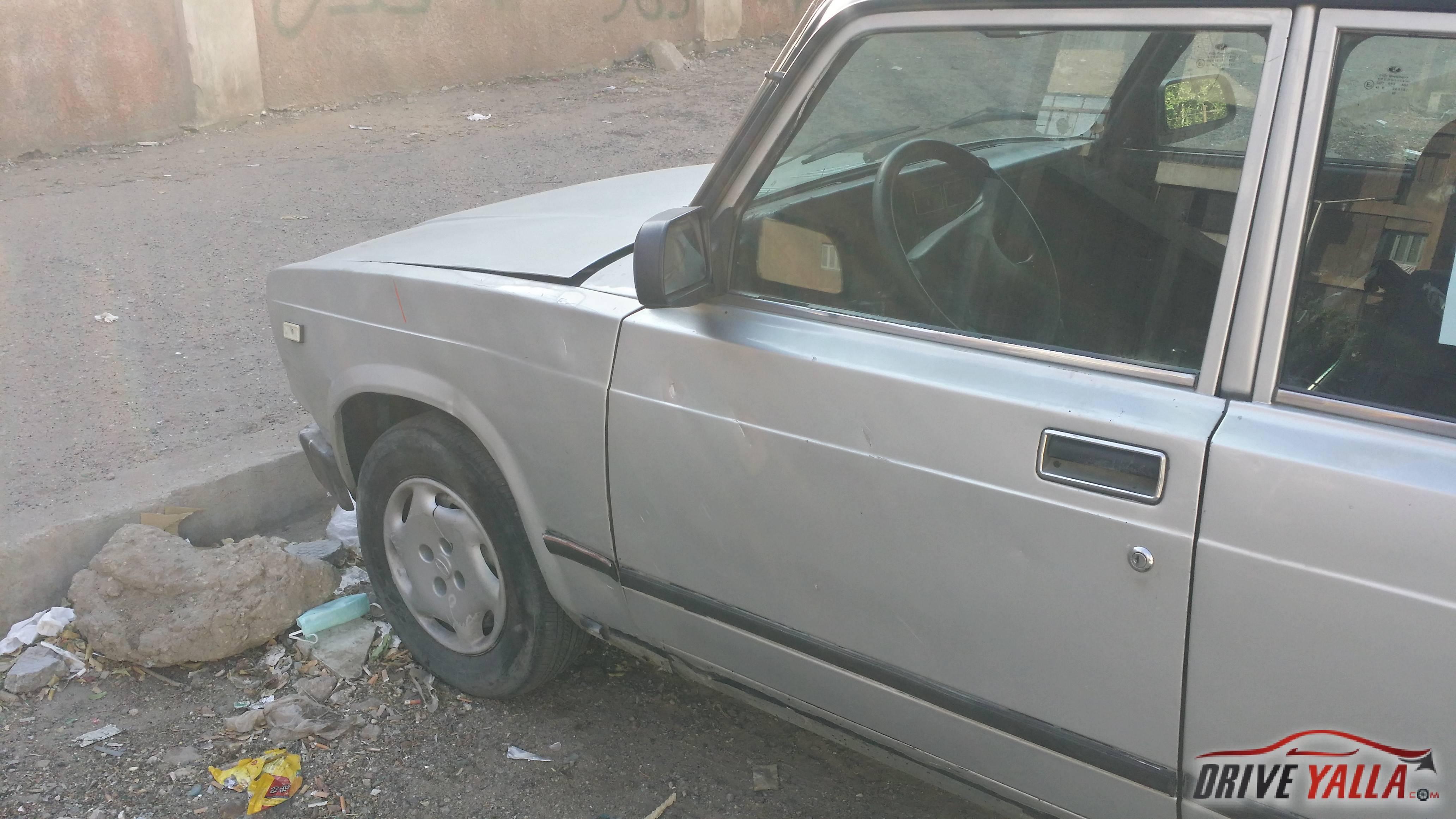 لادا 2107 مستعملة للبيع فى مصر  موديل 2007