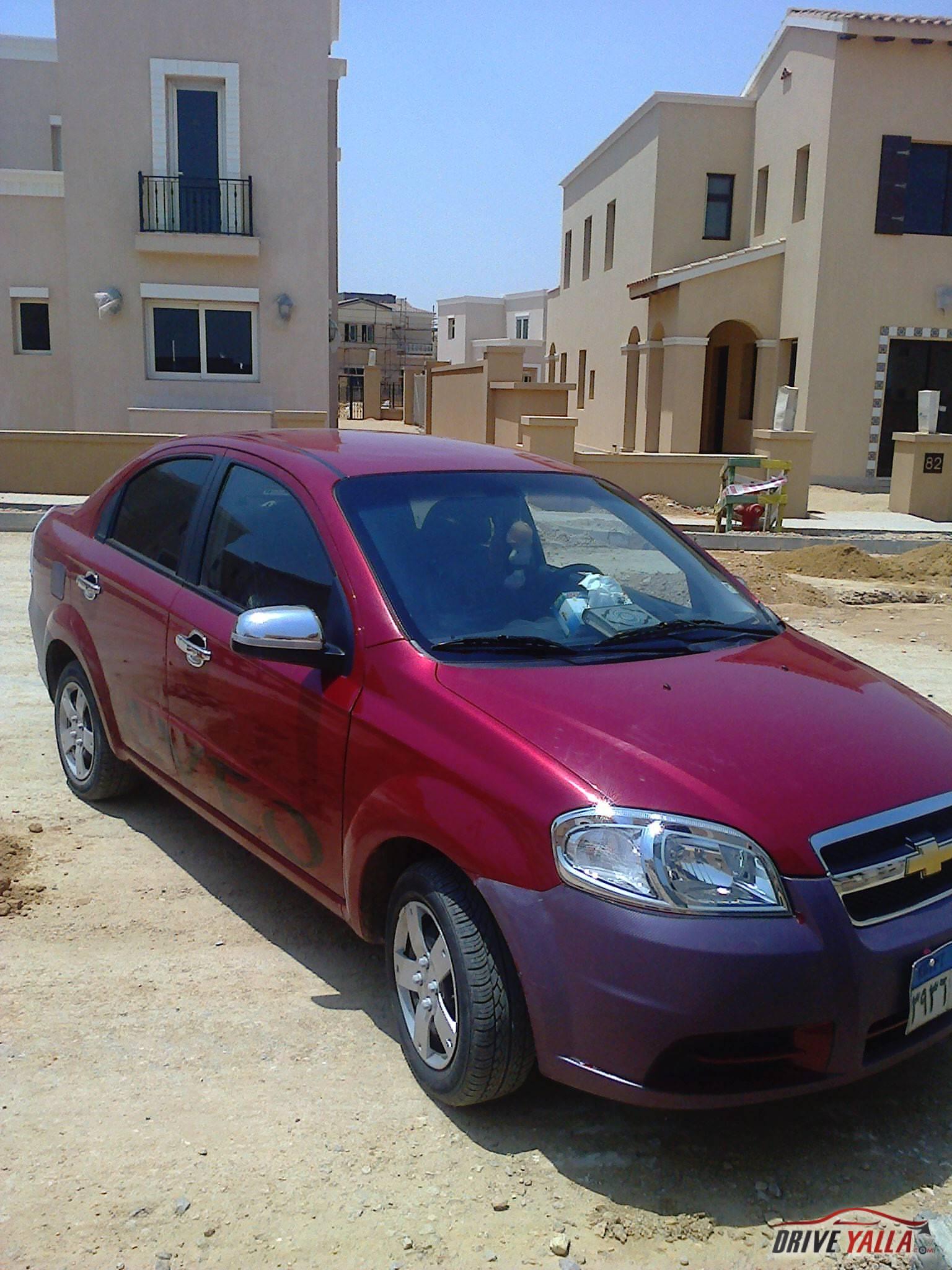 شيفرولية أفيو مستعملة للبيع فى مصر 2013