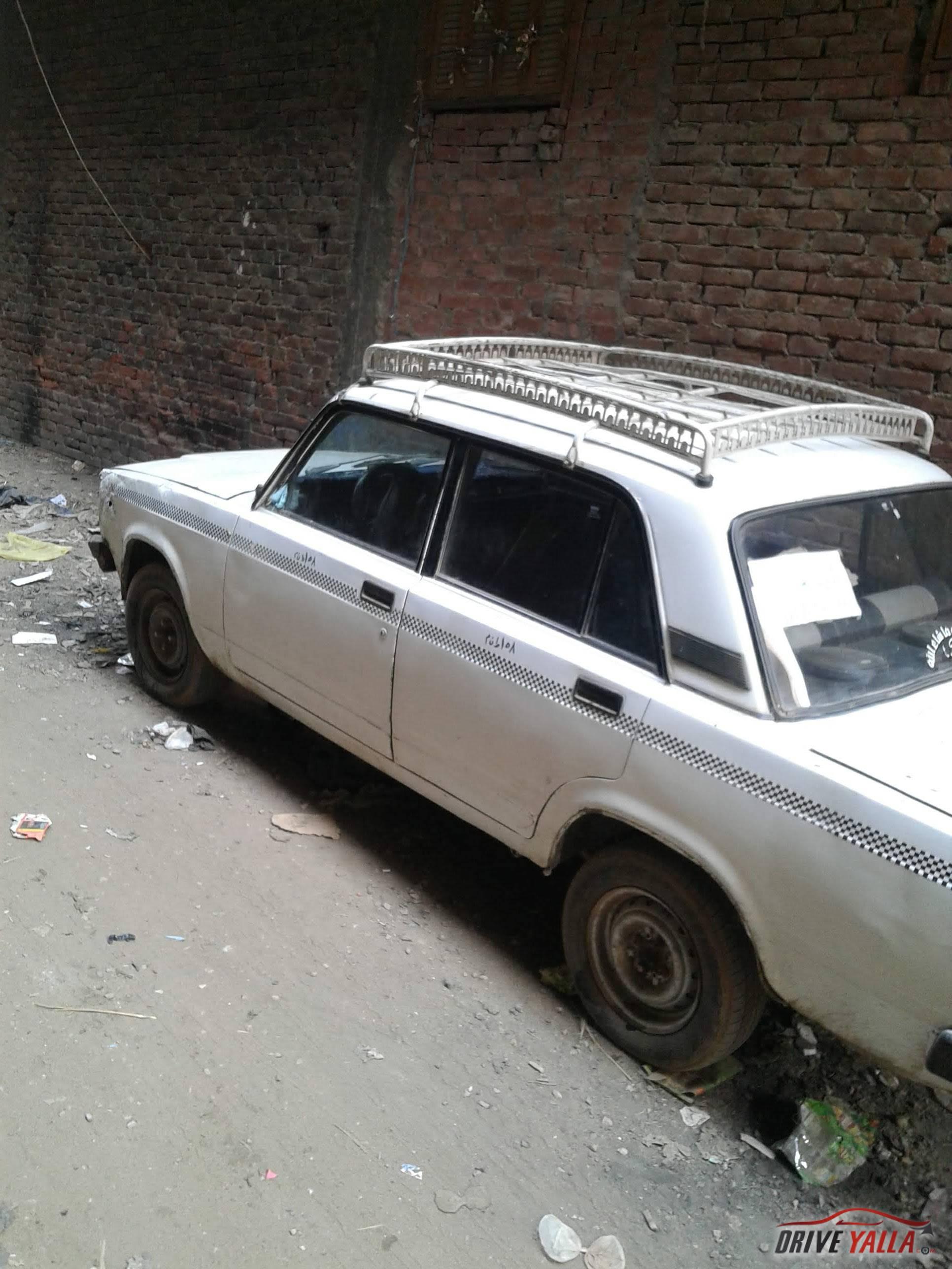 تاكسي لادا  مستعملة للبيع فى مصر 2009