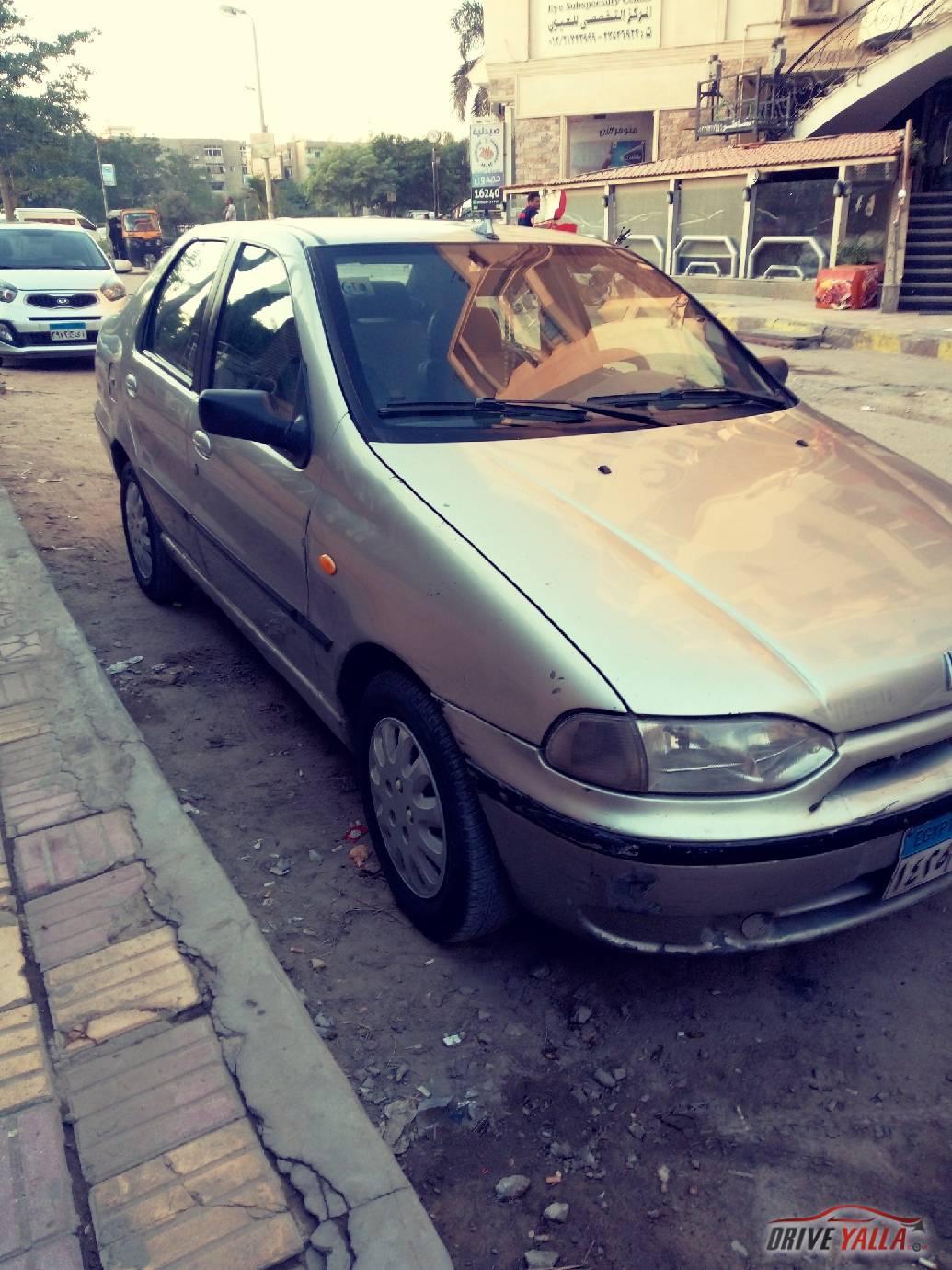 فيات سيينا  مستعملة للبيع فى مصر موديل ٢٠٠٠