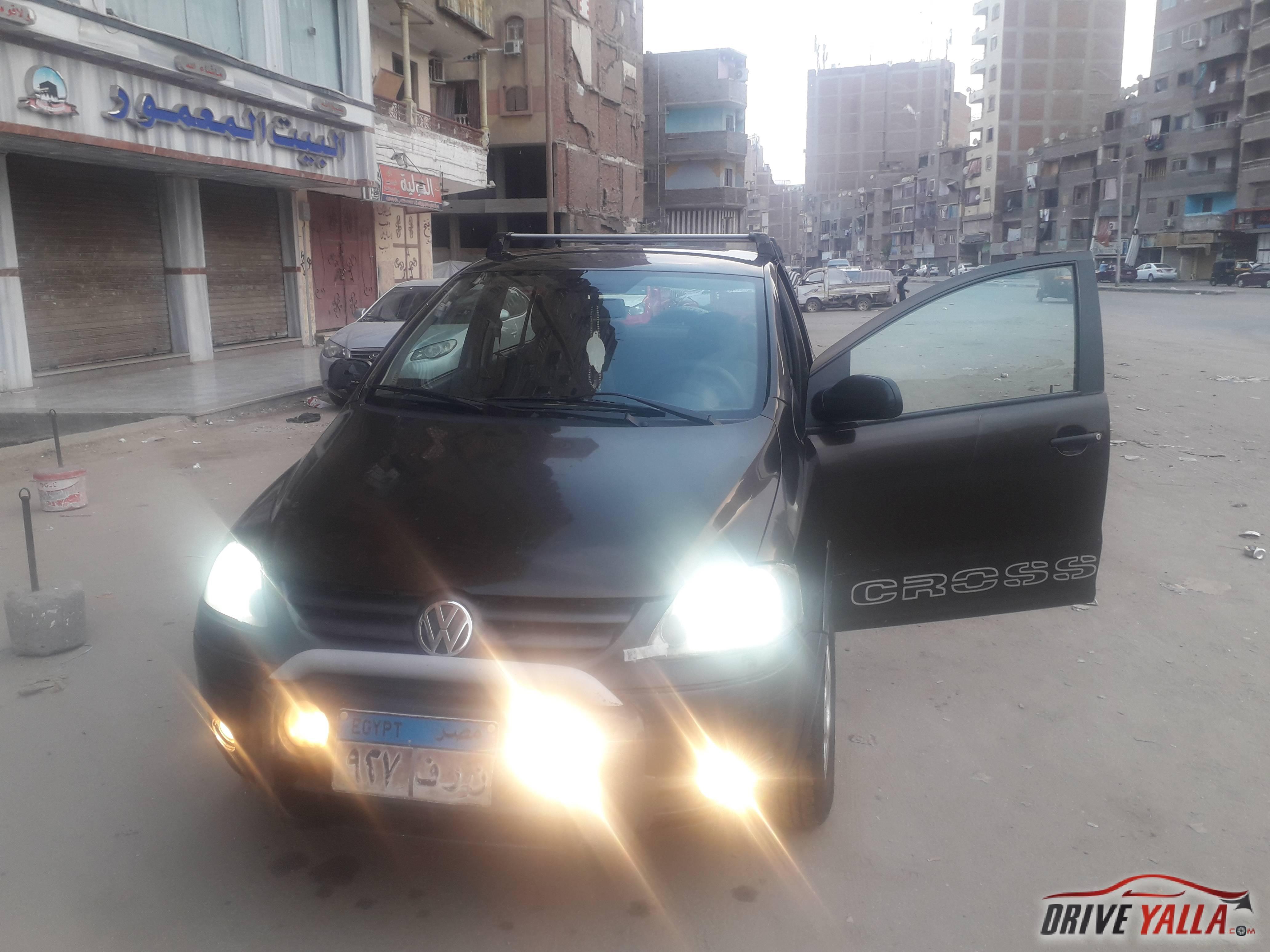 فولكس كروس فوكس مستعملة للبيع فى مصر   ٢٠٠٦