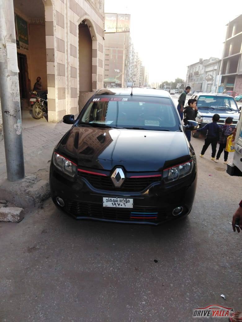 رينو لوجان مستعملة للبيع فى مصر بالتقسيط  2015