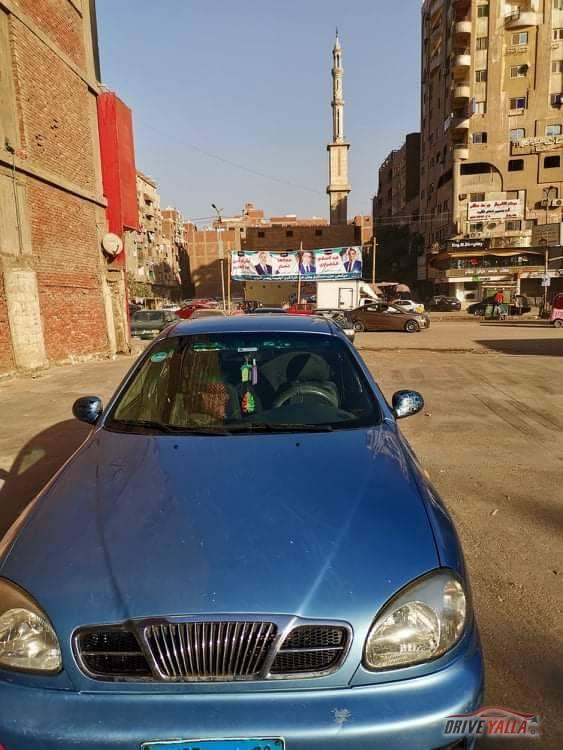 دايو لانوس مستعملة للبيع فى مصر  ٢٠٠٨