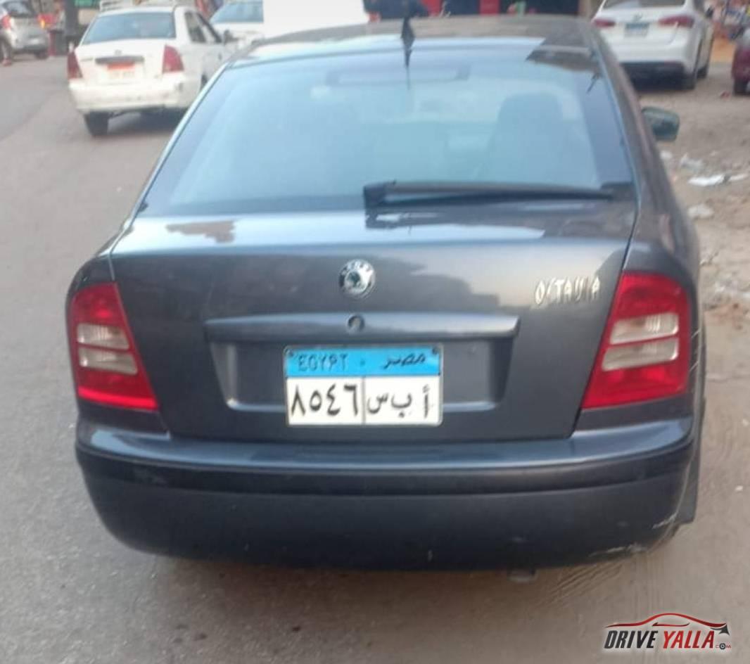 اوكتافيا A4  مستعملة للبيع فى مصر 2009